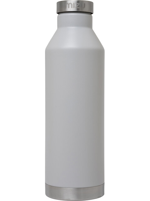 MIZU V8 Insulated Bottle with Stainless Steel Cap 800ml Enduro Light Grey
